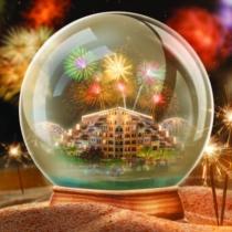 Новый год в ОАЭ в стиле RIXOS