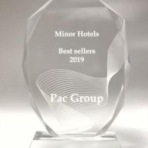 PAC GROUP получил благодарность от гостиничной сети Minor Hotels