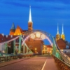 Вроцлав. Тумский мост