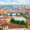 Флоренция. Панорама и вид на Понте Веккьо