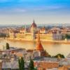 Будапешт. Вид на Парламент и реку Дунай
