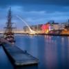Дублин. Набережная реки Лиффи