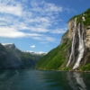 Гейрангерфьорд. Водопад «Семь сестер»