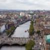 Дублин. Панорамный вид на город