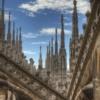 Милан. Крыша собора Дуомо