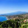 Таормина. Панорама с видом на горы