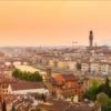 Флоренция. Панорама реки Арно
