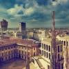 Милан. Вид на город с собора Дуомо