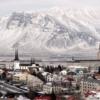 Рейкьявик. Панорама зимой
