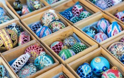Узбекистан. Рождественские украшения
