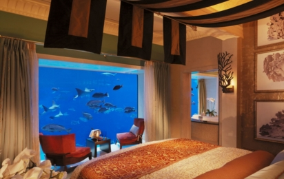 ATLANTIS THE PALM, DUBAI. Underwater Suites