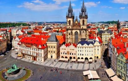 Чехия. Прага. Староместская площадь