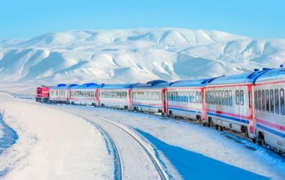 Турция. Карс. Поезд из Карса в Анкару