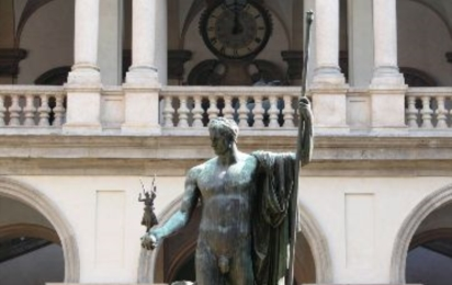 Милан. Статуя Наполеона
