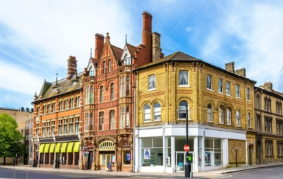 Саутгемптон. Исторические здания в центре города