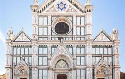 Флоренция. Базилика Санта Кроче