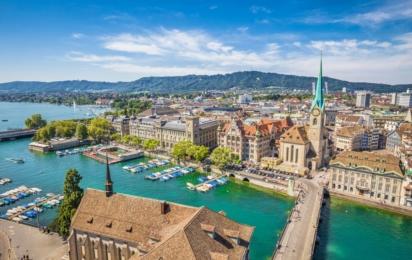 Швейцария. Цюрих
