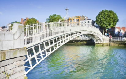 Дублин. Мост Полпенни