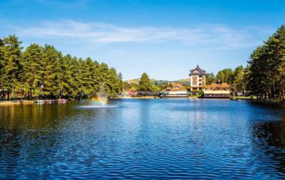Златибор. Озеро