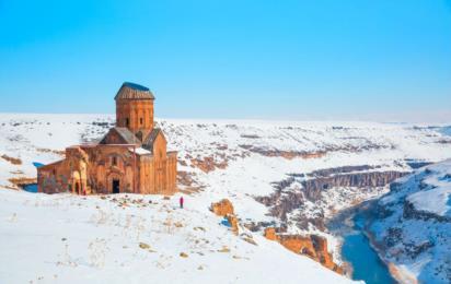 Турция. Руины Ани в турецкой провинции Карс