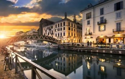 Милан. Каналы Навильи