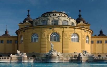 Будапешт. Купальня Сеченьи