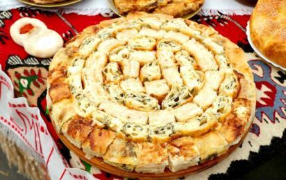 Сербская кухня. Сырный пирог