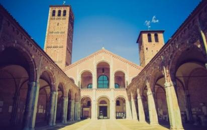 Милан. Базилика Святого Амвросия