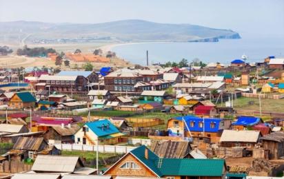 Россия. Поселок Хужир на острове Ольхон