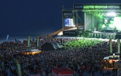 Зельден. Electric Mountain festival