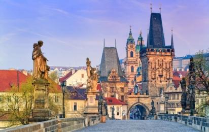 Чехия. Прага. Карлов мост