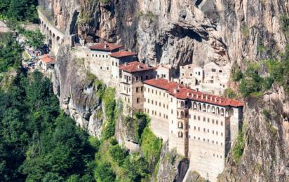 Турция. Трабзон. Монастырь Панагия Сумела
