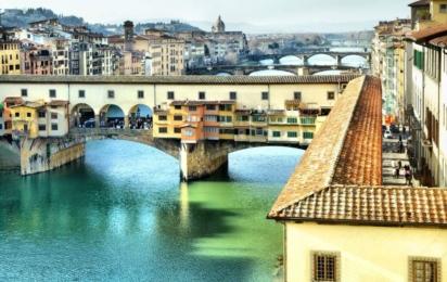 Флоренция. Мост Понте Веккьо