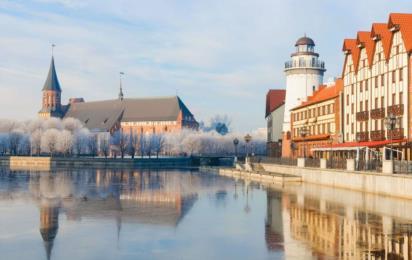 Калининград. Рыбная деревня и Кантский собор