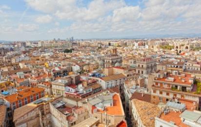 Валенсия. Вид на город