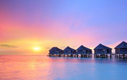 Мальдивы. Закат