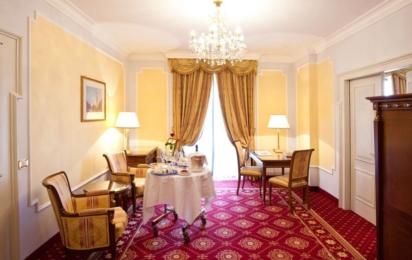 GRAND HOTEL TRIESTE & VICTORIA. Imperial Suite