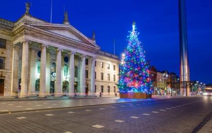 Дублин. Рождество