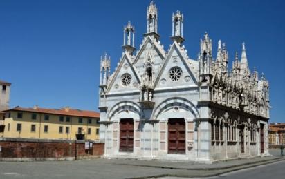 Пиза. Церковь Санта Мария дель Спина