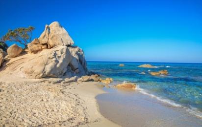 Сардиния. Пляж Санта-Джуста. Коста Рей