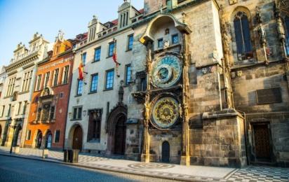 Чехия. Прага. Пражские астрономические часы орлой