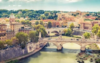 Рим. Мосты через Тибр