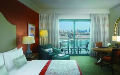 ATLANTIS THE PALM, DUBAI. Palm Beach Deluxe Guest Room