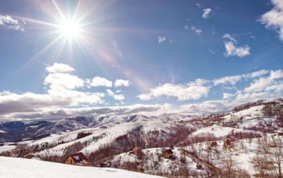 Златибор. Горы зимой