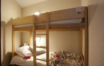 TEMPLES DU SOLEIL RESIDENCE P&V, Кабина с двухъярусной кроватью