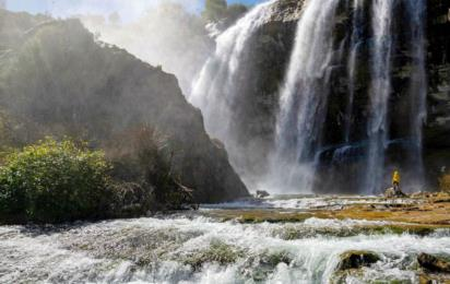 Турция. Водопад Тортум (Провинция Эрзурум)