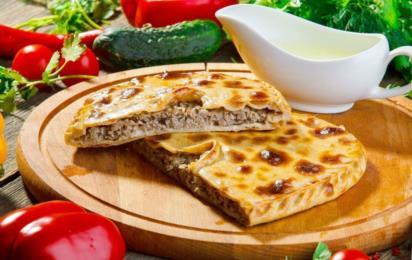Национальная кухня народов Дагестана. Мясной пирог