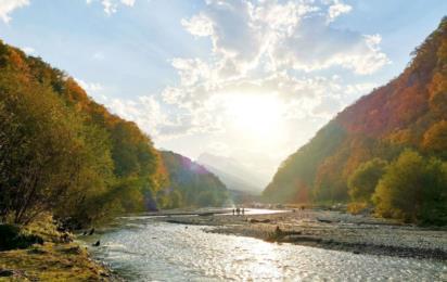 Северная Осетия. Кармадонское (Геналдонское) ущелье