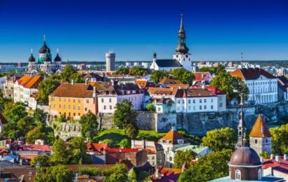 Таллинн. Вид на старый город