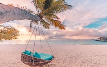 Мальдивы. Пляж